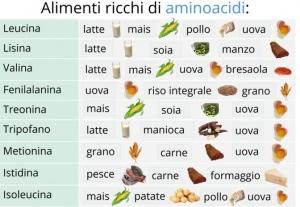 aminoacidi, Luiben